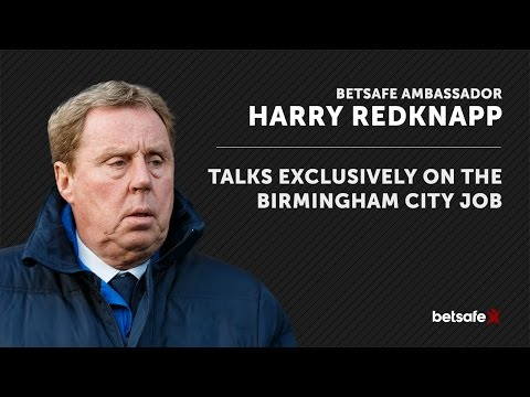 Harry Redknapp on being Birmingham City manager - exclusive