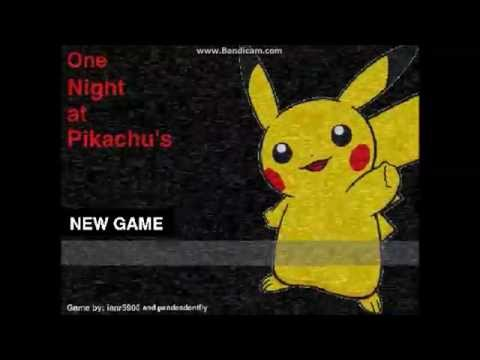 One Night At Pikachus By The Ianr5900 Original Creator Take 3