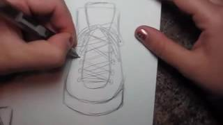 How to Draw Manga Shoes   Sneakers