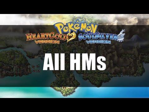 Pokemon Heart Gold & Soul Silver | All HM Locations