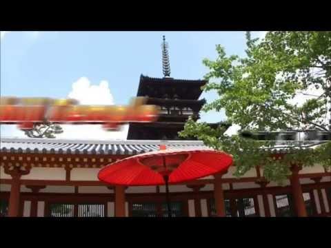 Japan Travel: Yakushiji Temple Hosso Sect head temple beautifully lit up, Nara42