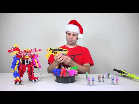 Dino Charger Power Pack Review! (Power Rangers Dino Charge)