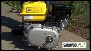 Двигатель бензиновый Sadko GE 200R обзор и в работе