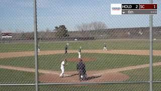 SC baseball vs Holdingford