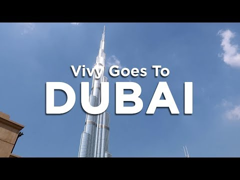 Vivy goes to Dubai - Part 1 | Vivy Yusof
