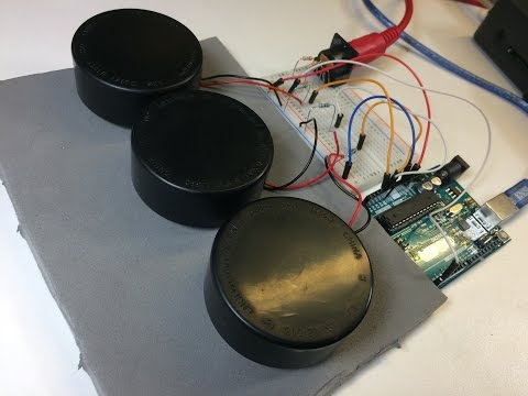LIVE from the Lab: Piezo-Electric Drum Pads