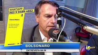 RÁDIO INTERATIVA EM GOIÂNIA - ENTREVISTA DE JAIR BOLSONARO (MELHORES MOMENTOS)