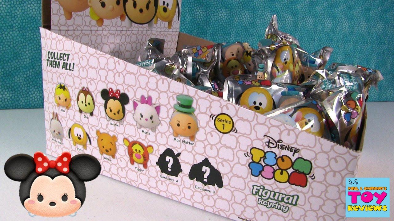 Disney Tsum Tsum Full Set Figural Keyring Blind Bag