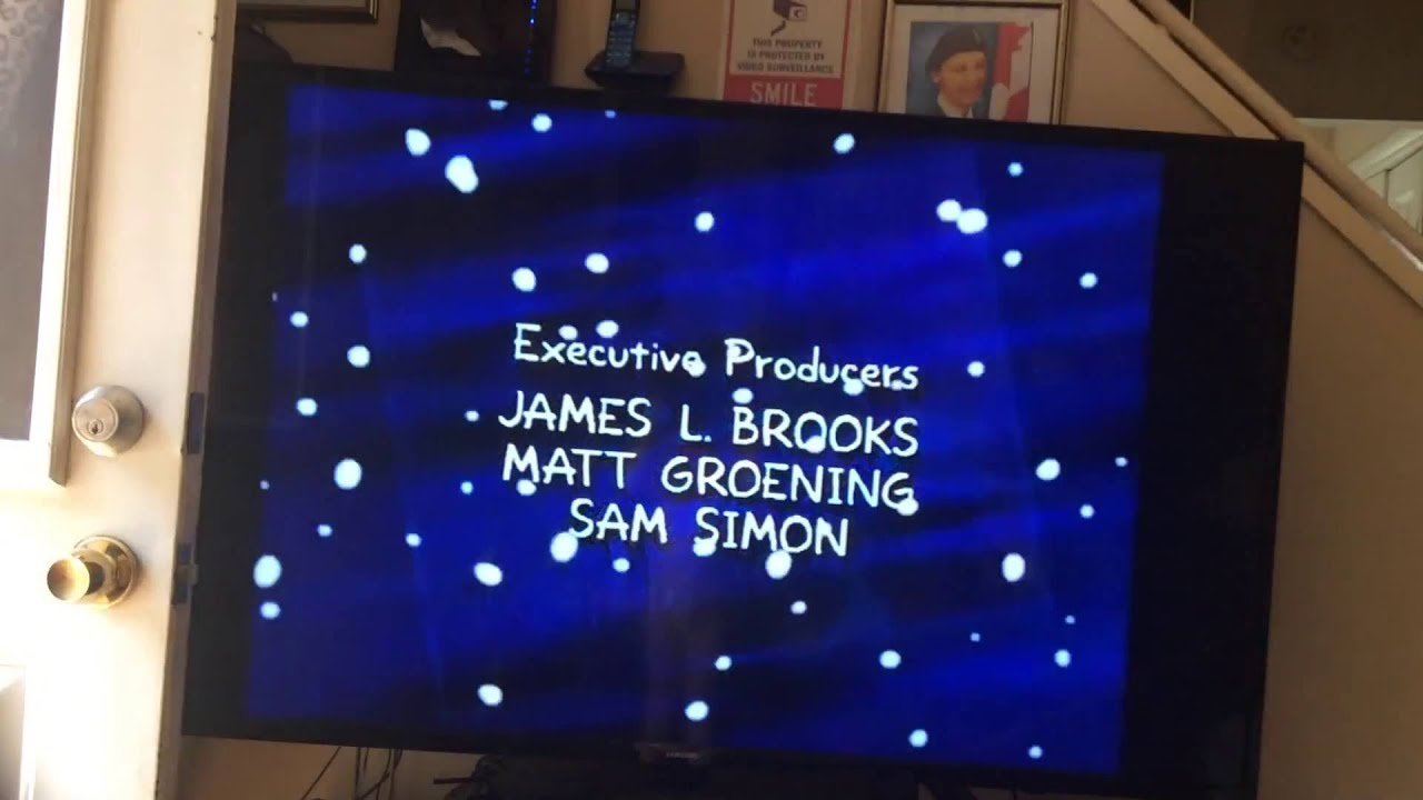 The Simpsons Christmas Special Credits (1990) - YouTube