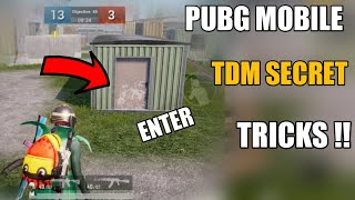 Pubg Mobile Tdm Secret Tricks !! Tdm Warehouse Secret Tricks Pubg Mobile ! Pubg Mobile New Tricks