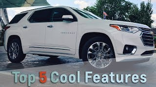 2018 Chevrolet Traverse: Top 5 Cool Features