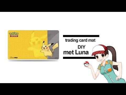 pokemon card trading mat DIY