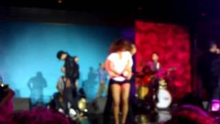 La Alemana & Ataca performing to Xtreme in Concert @ L.A. 13th Salsa Congress 2011 Part 2