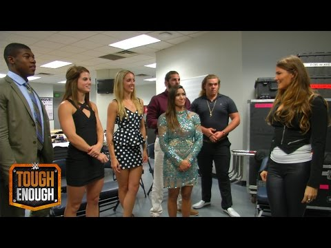 The Tough Enough competitors react to being at Raw: WWE Tough Enough Digital Extra, July 13, 2015