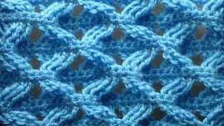 Рельефный узор вязание крючком Узоры крючком Crochet pattarn 86