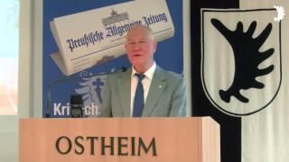 M. F. Schukat: Als Vertriebener in der DDR und seit der Wende - persönliche Erfahrungen
