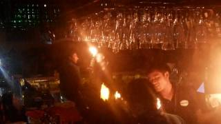 Amazing Fire Jugling @FENNY'S Lounge and Kitchen.