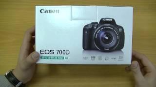 Обзор Canon EOS 700D Kit. Распаковка / Unboxing. Veryvery.ru(Новая зеркальная фотокамера Canon EOS 700D, пришедшая на смену Canon EOS 650D, обладает множеством выдающихся характери..., 2013-11-10T20:58:38.000Z)