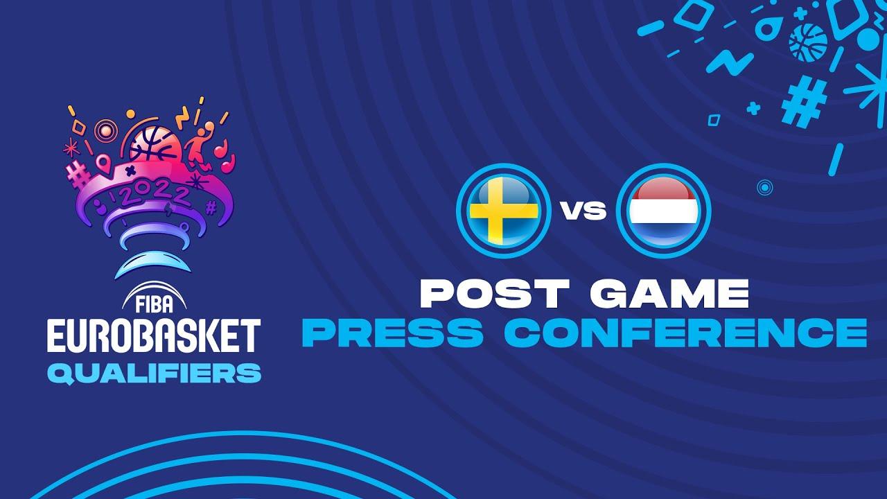 Sweden v Netherlands - Press Conference
