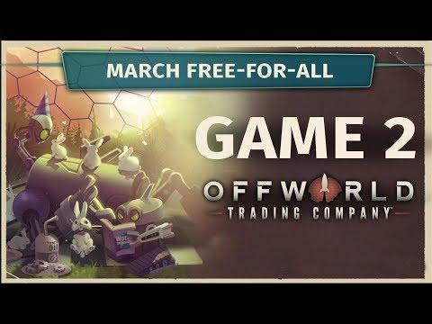 March FFA Game 2 - Offworld Trading Company [Cast]
