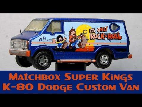 Matchbox Custom Super Kings K-80 Dodge Custom Van 'Hawkwind Rockers Van'