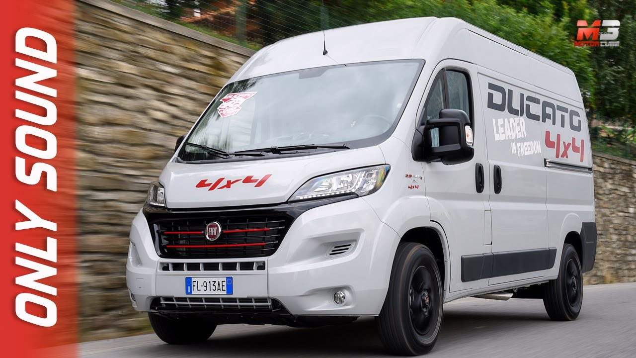new fiat ducato 4x4 2017 first test drive only sound doovi. Black Bedroom Furniture Sets. Home Design Ideas