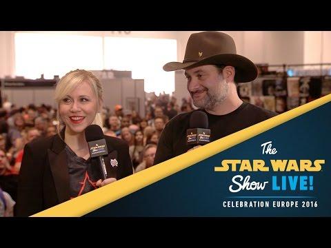 Ashley Eckstein and Dave Filoni    Star Wars Celebration Europe 2016