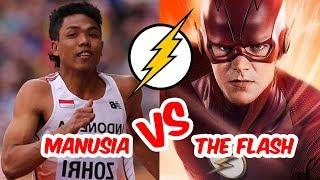 5 Manusia Tercepat Yang Pernah Hidup Di Bumi, Ngalahin The Flash Lho!