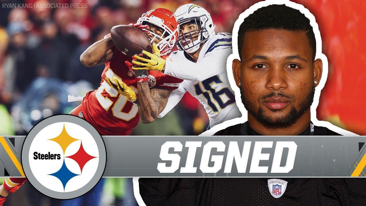 16dffa33de2 Pittsburgh Steelers Sign Cornerback Steven Nelson