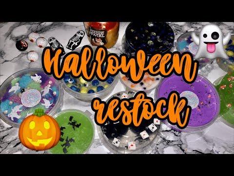 Самый страшный ресток, ещё больше необычных слаймов 🧟♂️ Halloween Restock