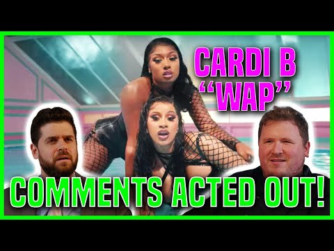 Cardi B - WAP feat. Megan Thee Stallion | YouTube Comment Theater