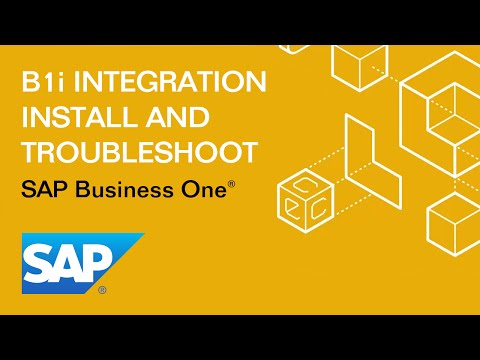 SAP Business One Mobile App Install with B1i Integration Framework and SSL Creation
