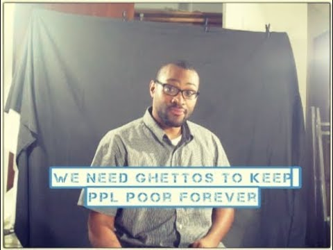 Blacks Are Not Poor They Just Don't Own Anything
