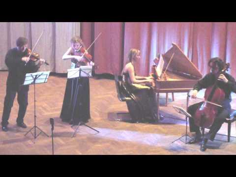 Tarquinio Merula Ciaccona. Vadym Borysov, Yulia Rubanova, Elena Zhukova, Artem Poludenny