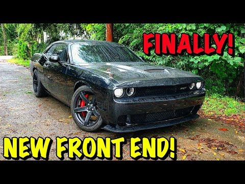 Rebuilding A Wrecked 2017 Dodge Hellcat Part 16