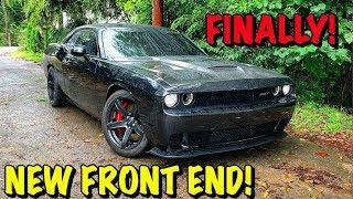 Rebuilding A Wrecked 2017 Dodge Hellcat Part 16
