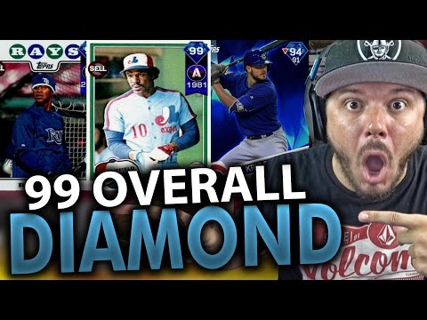 99 OVERALL DIAMOND PACK OPENING!! MLB THE SHOW 17 DIAMOND DYNASTY