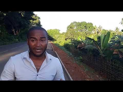 Trottoir voie verte piste cyclable Tsararano Dembeni Iloni