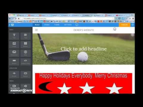 Update Your Website Tutorial