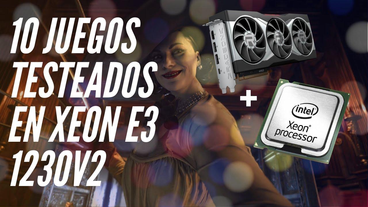 XEON E3 1230v2 - TEST IN 10 GAMES! - YouTube