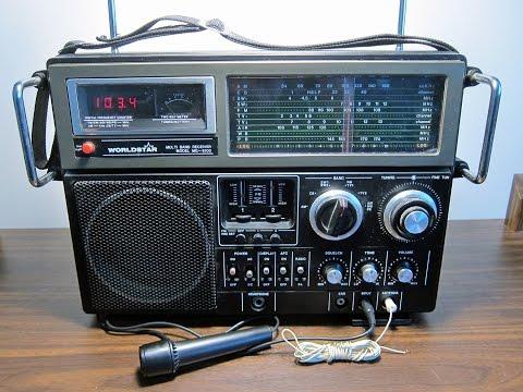 1982 Worldstar Multi-Band Receiver MG-6100