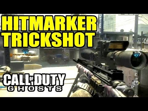 Play TRICKSHOT KILLCAM ?? NOOO !! HITMARKER !! | Call of duty ghosts