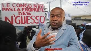 Mingwa BIANGO appelle les Congolais à chasser Sassou, Kolelas…