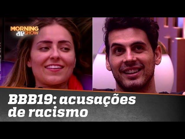 BBB19: Paula e Maycon são acusados de racismo