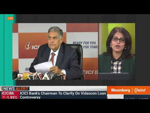 ICICI Bank Chairman Addresses The Media