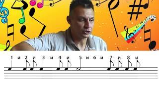 Нотная грамота. Урок №2 Определение ритма по нотам