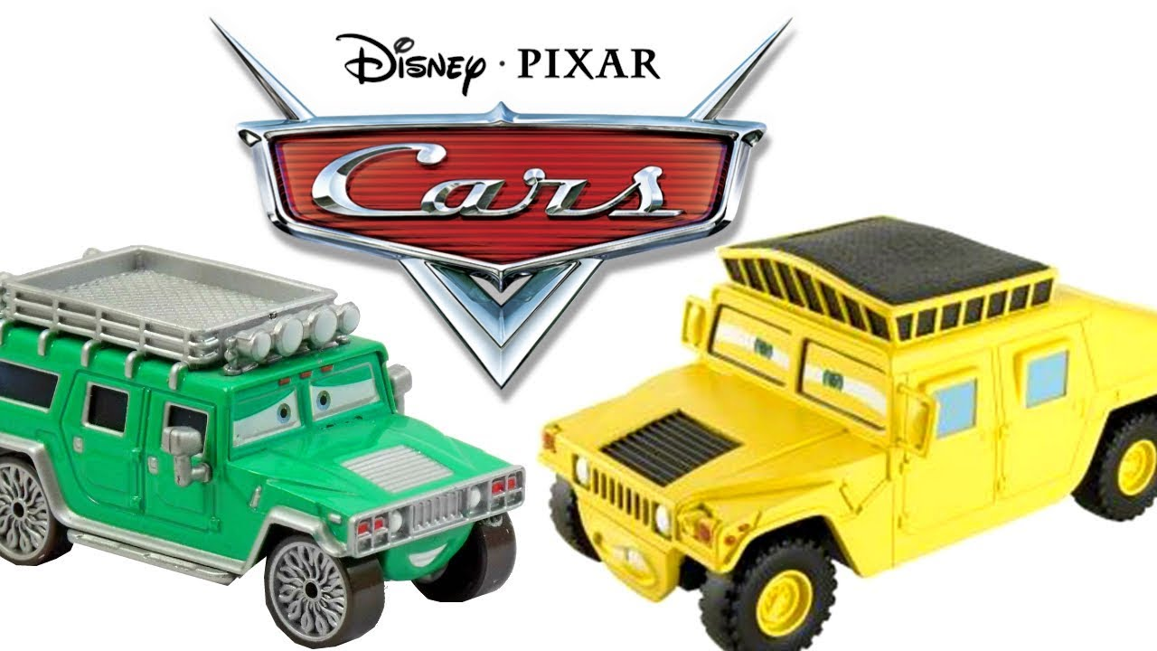Chase Disney Pixar Cars Toys Collection Hard To Find Rare Hummer
