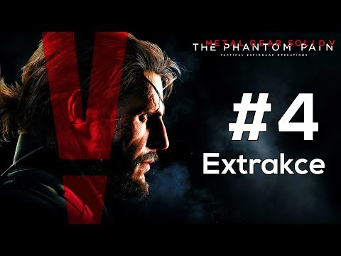 CZ Let's Play   Metal Gear Solid V: The Phantom Pain   #4   Extrakce!
