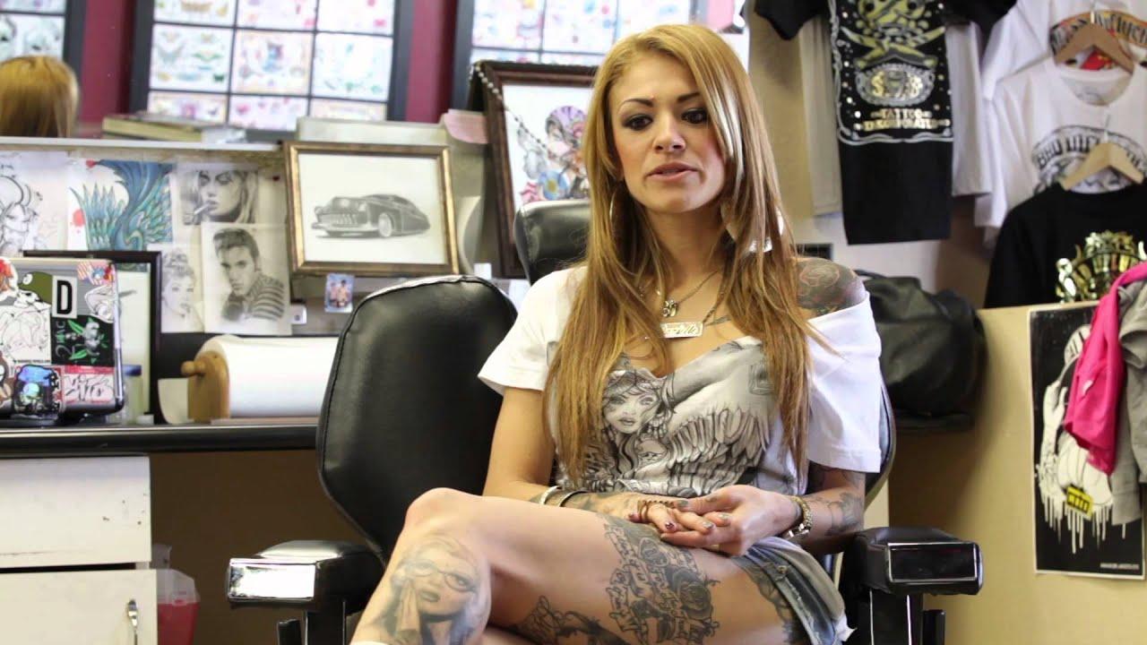 Metal Mulisha Maiden Tattoo Artist Series Dani G