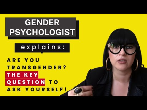 Gender Identity | Am I Transgender? & The Key Question to Ask Yourself!